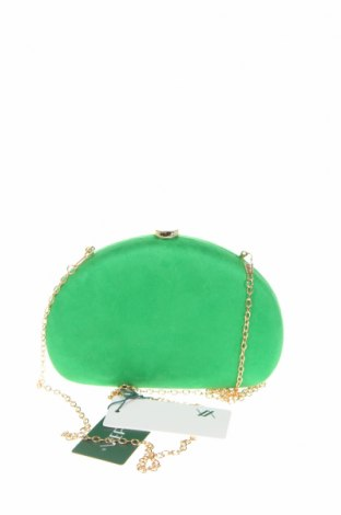 Дамска чанта Verde, Цвят Зелен, Текстил, Цена 13,57лв.