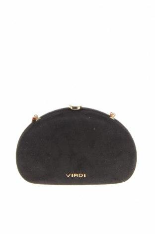 Γυναικεία τσάντα Verde, Χρώμα Μαύρο, Κλωστοϋφαντουργικά προϊόντα, Τιμή 22,81€