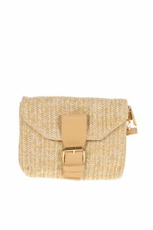 Γυναικεία τσάντα Verde, Χρώμα Εκρού, Κλωστοϋφαντουργικά προϊόντα, Τιμή 15,21€