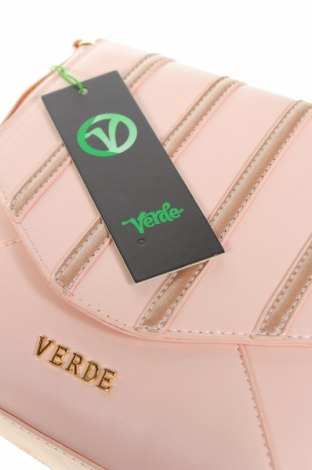 Дамска чанта Verde, Цвят Розов, Еко кожа, Цена 14,75лв.