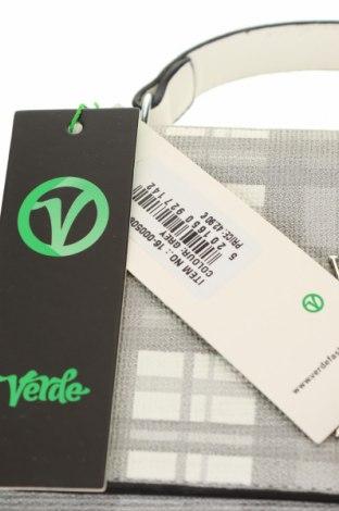 Дамска чанта Verde, Цвят Сив, Еко кожа, Цена 18,17лв.