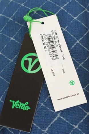 Дамска чанта Verde, Цвят Син, Текстил, Цена 20,01лв.