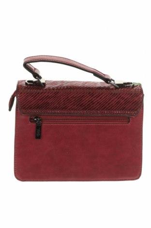 Дамска чанта Verde, Цвят Червен, Еко кожа, Цена 22,42лв.