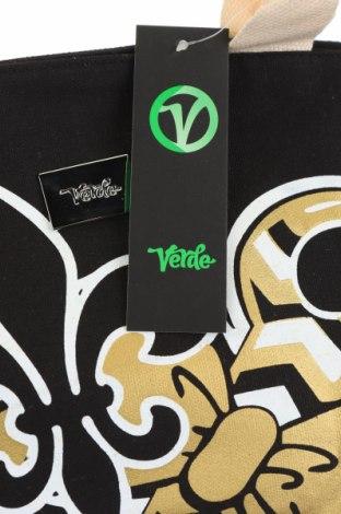 Чанта Verde, Цвят Черен, Текстил, Цена 18,63лв.