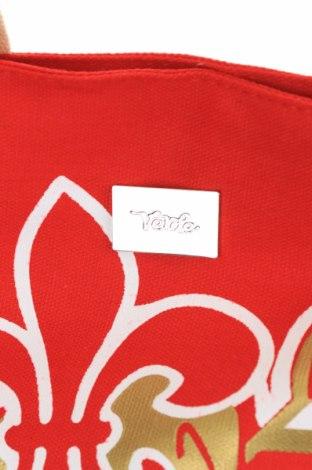 Чанта Verde, Цвят Червен, Текстил, Цена 18,60лв.