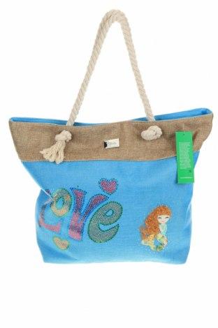 Τσάντα Verde, Χρώμα Μπλέ, Κλωστοϋφαντουργικά προϊόντα, Τιμή 17,79€