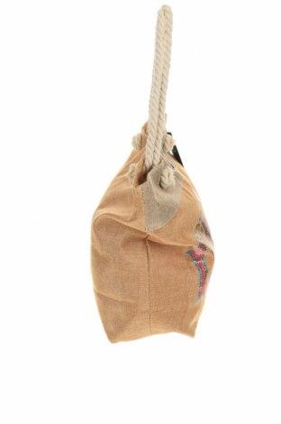 Чанта Verde, Цвят Бежов, Текстил, Цена 31,05лв.