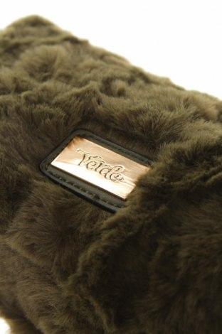 Дамска чанта Verde, Цвят Зелен, Текстил, Цена 12,32лв.