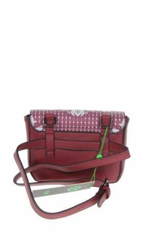 Дамска чанта Verde, Цвят Червен, Еко кожа, Цена 16,52лв.