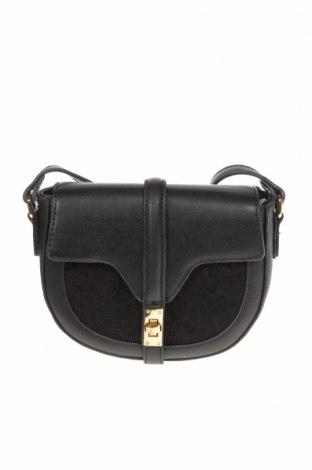 Γυναικεία τσάντα Verde, Χρώμα Μαύρο, Δερματίνη, κλωστοϋφαντουργικά προϊόντα, Τιμή 18,25€