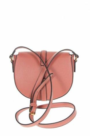 Дамска чанта Verde, Цвят Розов, Еко кожа, текстил, Цена 23,60лв.