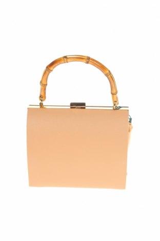 Дамска чанта Verde, Цвят Бежов, Еко кожа, Цена 44,25лв.