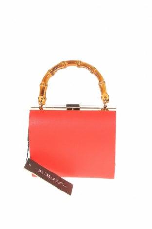 Дамска чанта Verde, Цвят Червен, Еко кожа, Цена 14,75лв.