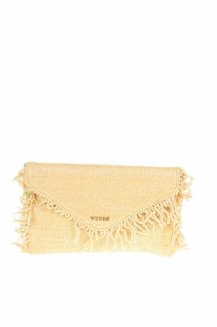 Γυναικεία τσάντα Verde, Χρώμα Εκρού, Κλωστοϋφαντουργικά προϊόντα, Τιμή 18,95€