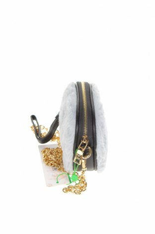 Дамска чанта Verde, Цвят Сив, Текстил, Цена 36,75лв.