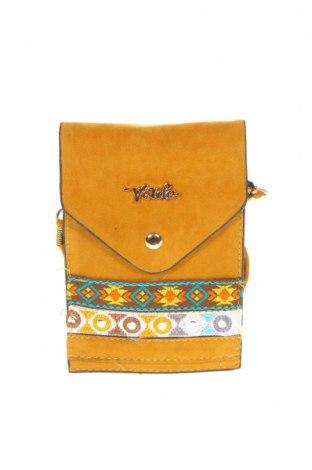 Γυναικεία τσάντα Verde, Χρώμα Κίτρινο, Κλωστοϋφαντουργικά προϊόντα, Τιμή 14,74€