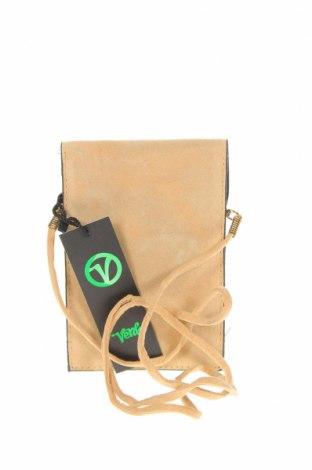Дамска чанта Verde, Цвят Бежов, Текстил, Цена 23,40лв.