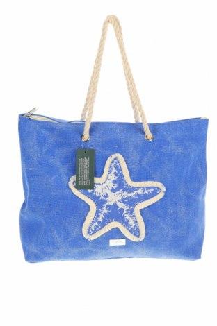 Τσάντα Verde, Χρώμα Μπλέ, Κλωστοϋφαντουργικά προϊόντα, Τιμή 19,56€