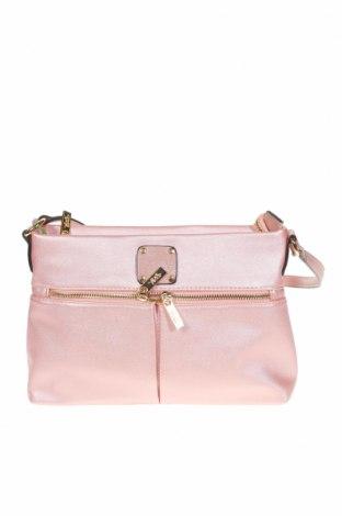 Дамска чанта Verde, Цвят Розов, Еко кожа, Цена 25,37лв.