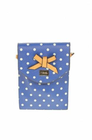 Γυναικεία τσάντα Verde, Χρώμα Μπλέ, Δερματίνη, Τιμή 12,86€