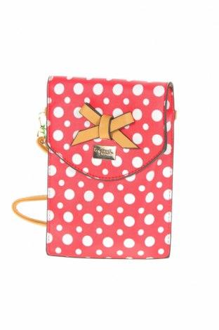 Γυναικεία τσάντα Verde, Χρώμα Κόκκινο, Δερματίνη, Τιμή 13,40€
