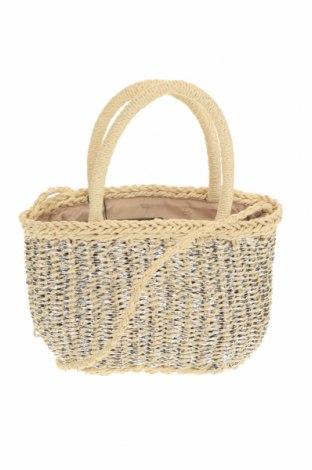 Дамска чанта Verde, Цвят Бежов, Други тъкани, Цена 36,75лв.