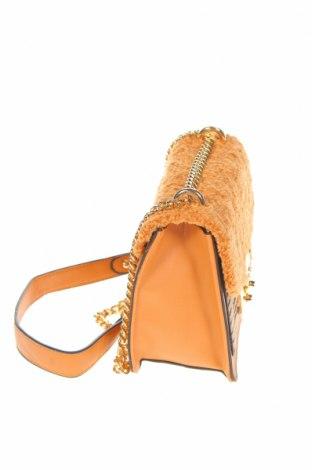 Γυναικεία τσάντα Verde, Χρώμα  Μπέζ, Δερματίνη, κλωστοϋφαντουργικά προϊόντα, Τιμή 30,54€
