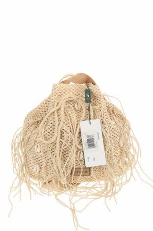 Γυναικεία τσάντα Verde, Χρώμα  Μπέζ, Άλλα υφάσματα, δερματίνη, Τιμή 13,68€