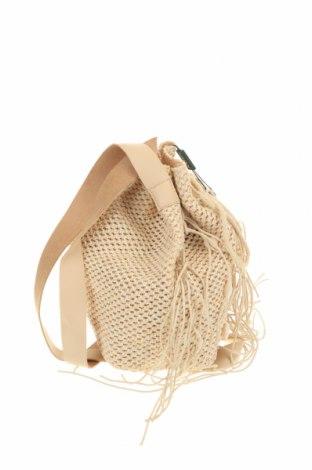 Дамска чанта Verde, Цвят Бежов, Други тъкани, еко кожа, Цена 29,50лв.
