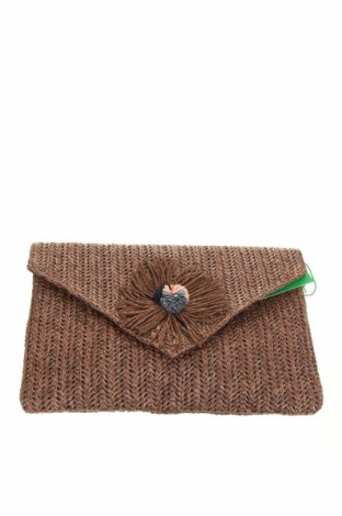 Дамска чанта Verde, Цвят Кафяв, Други материали, Цена 39,00лв.