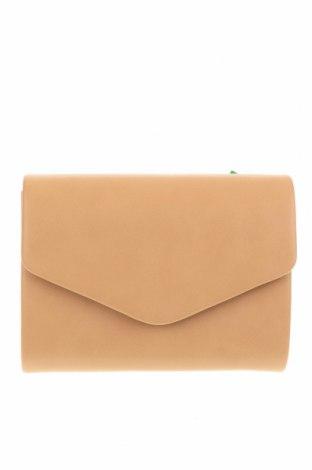 Дамска чанта Verde, Цвят Бежов, Еко кожа, Цена 13,15лв.