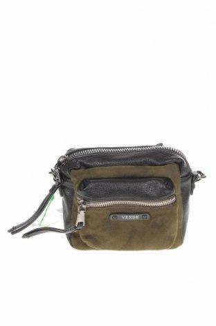 Γυναικεία τσάντα Verde, Χρώμα Μαύρο, Δερματίνη, κλωστοϋφαντουργικά προϊόντα, Τιμή 16,73€