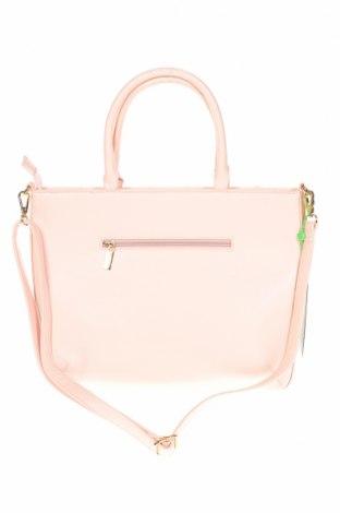 Дамска чанта Verde, Цвят Розов, Еко кожа, Цена 23,56лв.