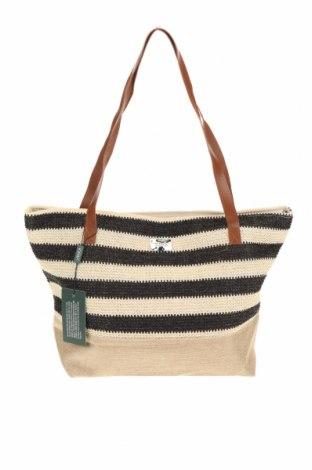 Dámská kabelka  Verde, Barva Béžová, Textile , Eko kůže, Cena  550,00Kč