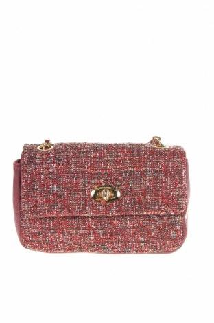 Γυναικεία τσάντα Verde, Χρώμα Κόκκινο, Κλωστοϋφαντουργικά προϊόντα, δερματίνη, Τιμή 16,73€