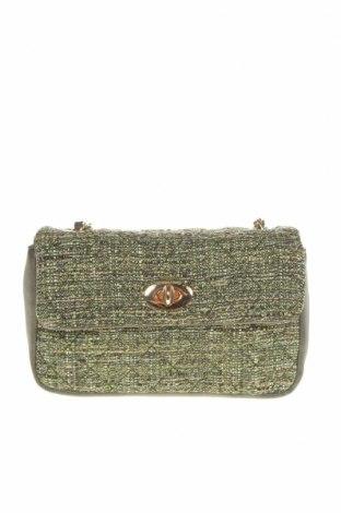 Γυναικεία τσάντα Verde, Χρώμα Πράσινο, Κλωστοϋφαντουργικά προϊόντα, δερματίνη, Τιμή 15,21€