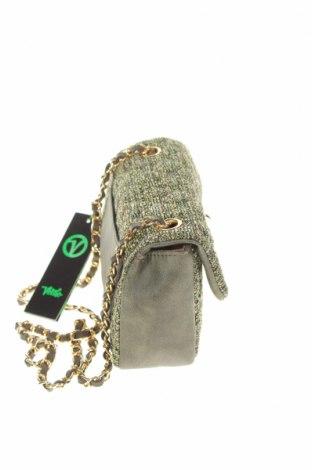 Дамска чанта Verde, Цвят Зелен, Текстил, еко кожа, Цена 44,25лв.