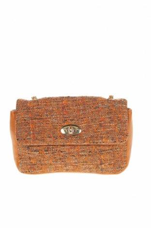 Γυναικεία τσάντα Verde, Χρώμα Καφέ, Κλωστοϋφαντουργικά προϊόντα, δερματίνη, Τιμή 14,60€