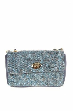 Γυναικεία τσάντα Verde, Χρώμα Μπλέ, Κλωστοϋφαντουργικά προϊόντα, δερματίνη, Τιμή 16,12€