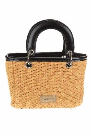 Дамска чанта Verde, Цвят Бежов, Други материали, еко кожа, Цена 20,80лв.