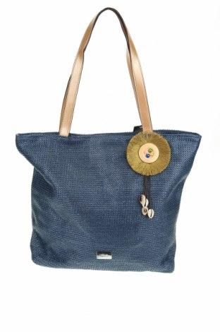 Τσάντα Verde, Χρώμα Μπλέ, Άλλα υφάσματα, δερματίνη, Τιμή 23,12€