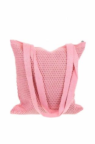 Дамска чанта Verde, Цвят Розов, Текстил, Цена 51,75лв.
