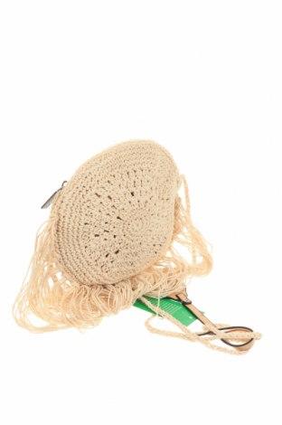 Дамска чанта Verde, Цвят Бежов, Текстил, Цена 11,80лв.