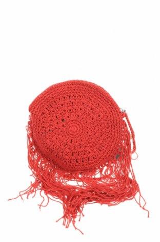 Дамска чанта Verde, Цвят Червен, Текстил, Цена 5,90лв.