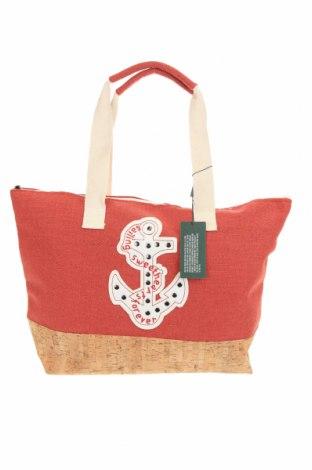 Τσάντα Verde, Χρώμα Κόκκινο, Κλωστοϋφαντουργικά προϊόντα, άλλα υφάσματα, Τιμή 17,79€