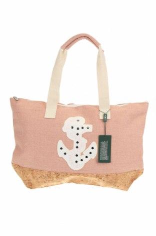 Τσάντα Verde, Χρώμα Ρόζ , Κλωστοϋφαντουργικά προϊόντα, άλλα υφάσματα, Τιμή 17,79€