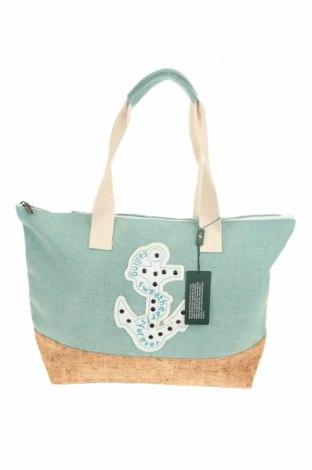 Geantă Verde, Culoare Verde, Textil, alte țesuturi, Preț 68,09 Lei