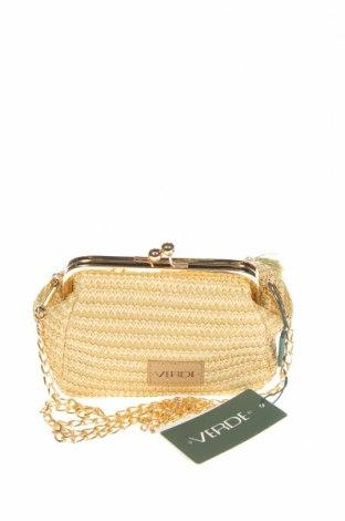 Дамска чанта Verde, Цвят Бежов, Други материали, Цена 10,62лв.