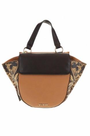 Γυναικεία τσάντα Verde, Χρώμα Καφέ, Δερματίνη, Τιμή 13,44€