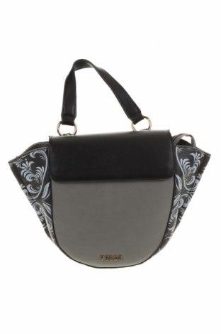 Дамска чанта Verde, Цвят Сив, Еко кожа, Цена 21,86лв.